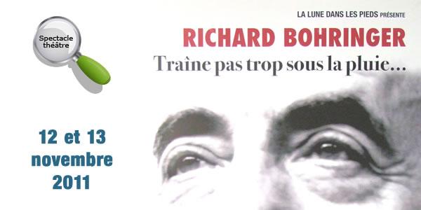 Richard Bohringer le 12 et 13 novembre 2011