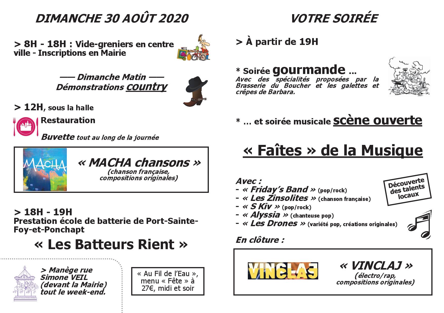 Fête locale 2020